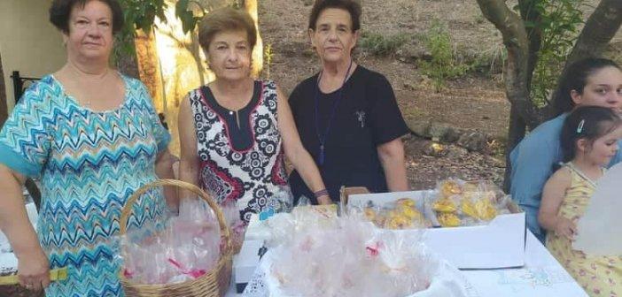 """Σταμνά: Γλυκίσματα από το Σύλλογο """"Αγία Αγάθη"""" για τη γιορτή του Αγίου Παντελεήμονα (ΦΩΤΟ)"""