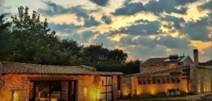 Ο νερόμυλος στο Μοναστηράκι Βόνιτσας (VIDEO)