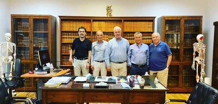 Ο Μάριος Σαλμάς εξελέγη Αναπληρωτής Καθηγητής Ανατομίας της Ιατρικής Σχολής του Εθνικού Καποδιστριακού Πανεπιστημίου Αθηνών.