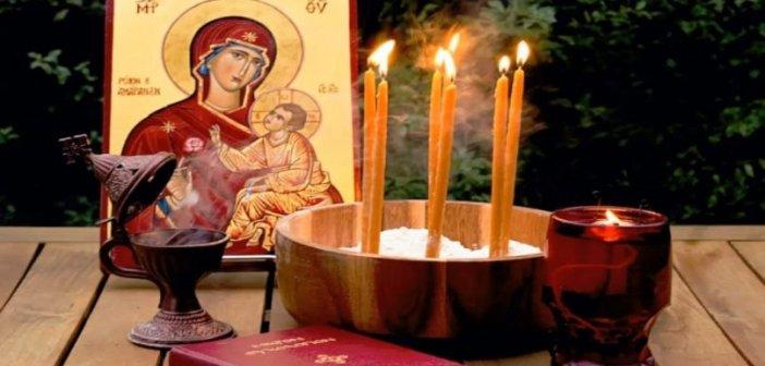 Τέλεση Ευχελαίου στην Αγία Τριάδα Αγρινίου