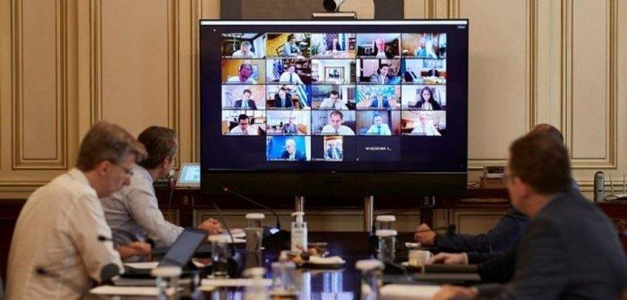 Συνεδριάζει μέσω τηλεδιάσκεψης το Υπουργικό Συμβούλιο – Η ατζέντα