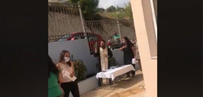 Κρήτη: Συνελήφθη ο ιερέας μετά το κήρυγμα για τις μάσκες (VIDEO)