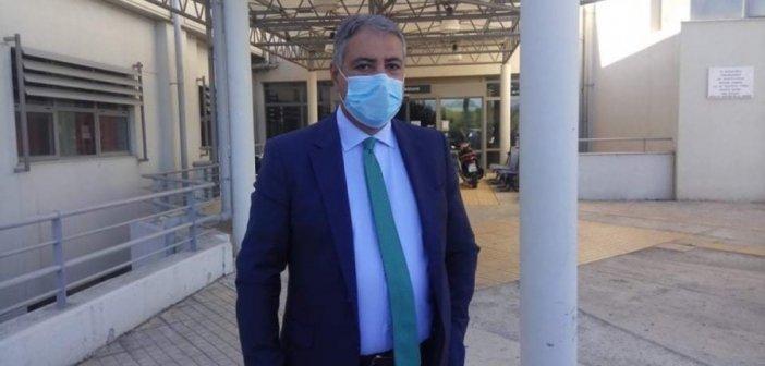 Στο Νοσοκομείο Αγρινίου ο ΥΠΕάρχης μετά το κρούσμα: Ο Γ. Καρβέλης επιβεβαιώνει στο sinidisi.gr ότι δεν ενημερώθηκε θεσμικά από κανέναν