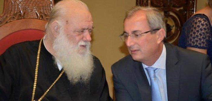 Δήμαρχος Θέρμου: Εύχες και περαστικά στον Αρχιεπίσκοπο Ιερώνυμο