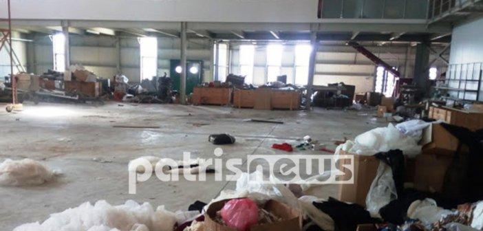 Δυτική Ελλάδα: Ο ορισμός της λεηλασίας με 500.000 ζημιά σε εργοστάσιο ενδυμάτων