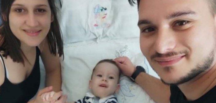 Το συγκινητικό μήνυμα των γονιών του μικρού Ηλία-Στυλιανού από τον Αστακό