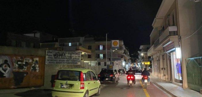 Ναύπακτος: Κυκλοφοριακή «ασφυξία» λίγες ώρες πριν το lockdown (VIDEO)