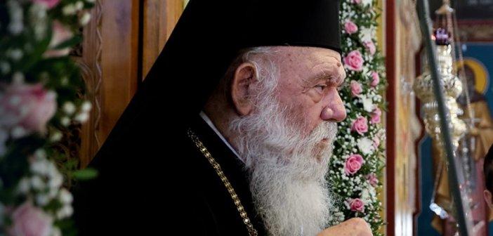 Αρχιεπίσκοπος Ιερώνυμος: Καθάρισε με τον ιό, όχι και με τους «διαδόχους»