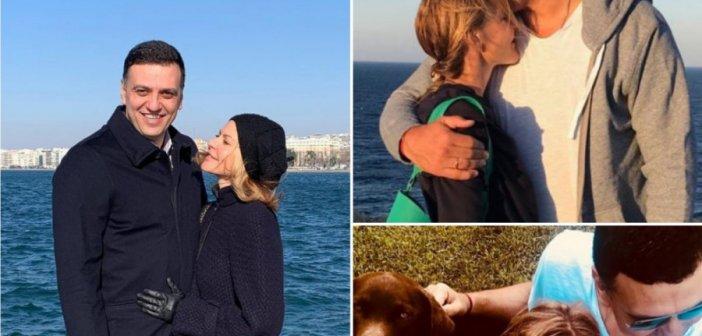 Τζένη Μπαλατσινού – Βασίλης Κικίλιας: 10+1 φορές που είδαμε κοινές τους φωτογραφίες στο social media