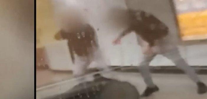 Αποτροπιασμός για την επίθεση στον σταθμάρχη από αρνητές μάσκας – Βίντεο ντοκουμέντο από τον ξυλοδαρμό