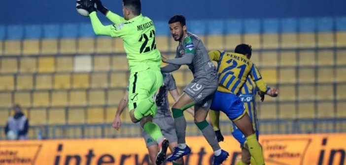 """Παναιτωλικός-Παναθηναϊκός 1-0 : Νική-ανάσα με """"ογκόλιθο"""" Μελίσσα"""