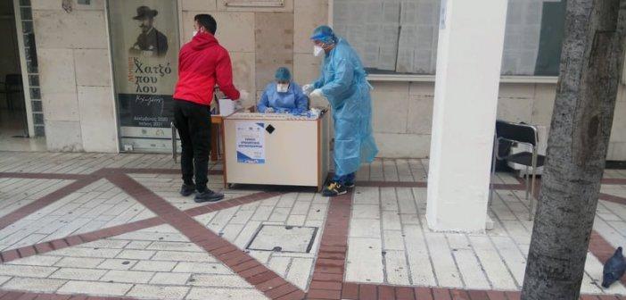 Αγρίνιο: Δύο θετικά τεστ από τα 167 που διενεργήθηκαν σήμερα στο Δημαρχείο