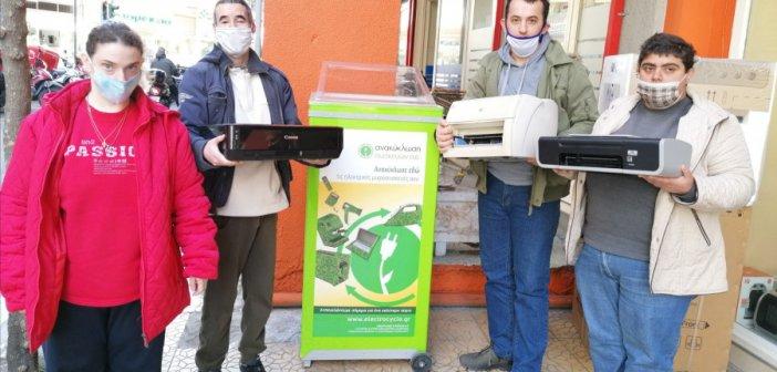 Δράση της Περιβαλλοντικής Ομάδας του Εργαστηρίου «ΠΑΝΑΓΙΑ ΕΛΕΟΥΣΑ»