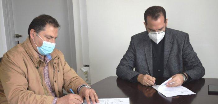 Συντήρηση και αποκατάσταση των επαρχιακών οδών εντός των διοικητικών ορίων του Δήμου Θέρμου