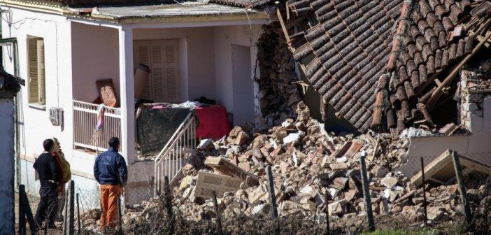 Σεισμός στην Ελασσόνα: Μη κατοικήσιμα 5 στα 8 σπίτια στη Θεσσαλία