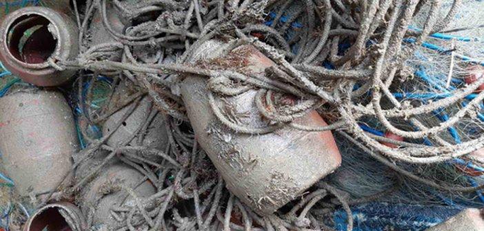 Κρυονέρι: Παράνομα αλιευτικά εργαλεία κατέσχεσε το Λιμεναρχείο