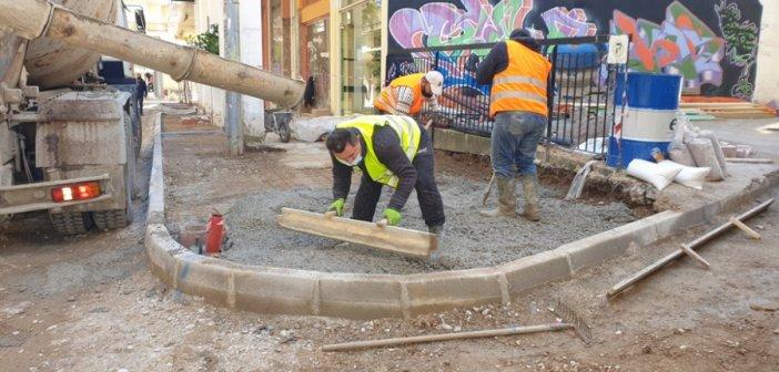 Αγρίνιο: Διακοπή κυκλοφορίας οχημάτων στην οδό Αντωνοπούλου για εργασίες ανακατασκευής.