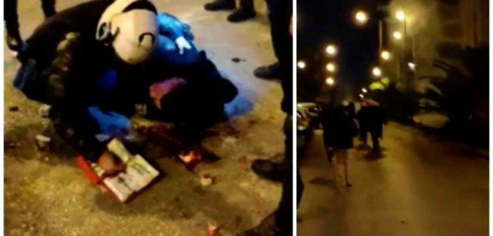 Νέα Σμύρνη: Δείτε βίντεο από τον τραυματισμό του αστυνομικού