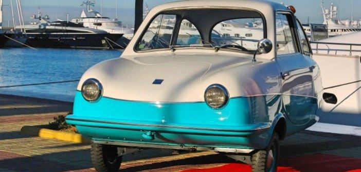 Το καμάρι της Ελλάδας: Πώς χάθηκε το τρίτροχο αυτοκίνητο που φτιαχνόταν στο Μοσχάτο