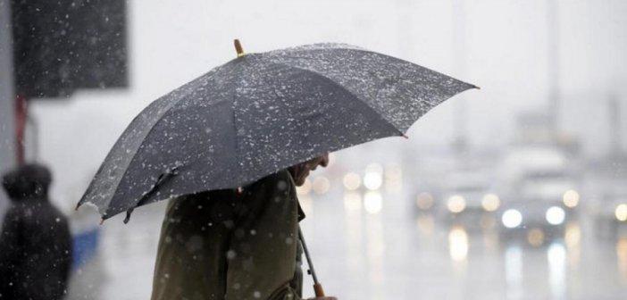 Καιρός: Βροχές και κρύο σήμερα – Πού θα χιονίσει