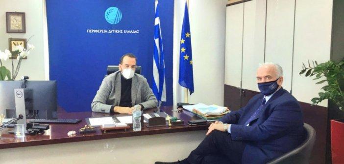 Συνάντηση Λύρου – Φαρμάκη: Οι ενεργειακές ανάγκες του Δήμου επί τάπητος