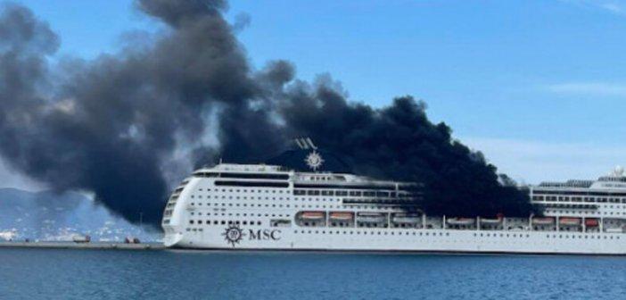 Ιόνιο: Φωτιά σε κρουαζιερόπλοιο στην Κέρκυρα