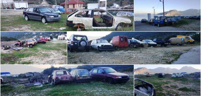 Λευκάδα: Σε νεκροταφείο αυτοκινήτων έχει μετατραπεί το λιμάνι Επισκοπής Καλάμου;