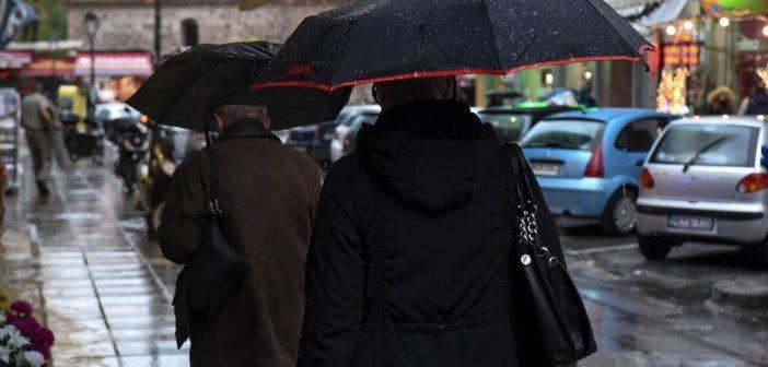 Αιτωλοακαρνανία: Με ισχυρές βροχές και καταιγίδες ο καιρός το Σαββατοκύριακο