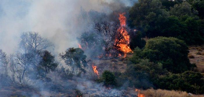 Ενημέρωση για την εξάλειψη των κινδύνων πυρκαγιάς από την Π.Υ. Αιτωλοακαρνανίας