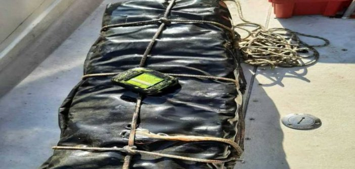 Κόρινθος: 46,71 κιλά κοκαΐνης σε πλοίο… Εντυπωσιακά υποβρύχια πλάνα από τον εντοπισμό του (VIDEO)