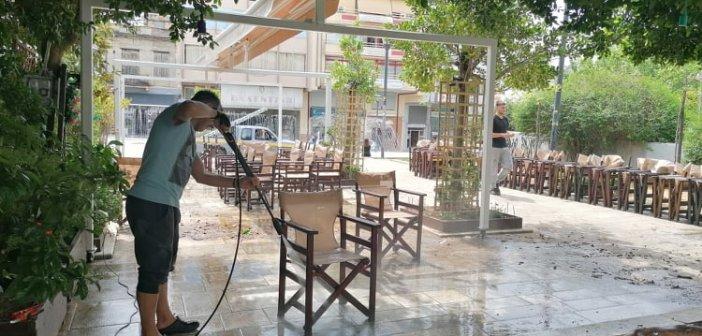 Αγρίνιο: Έτοιμα για restart τα καταστήματα εστίασης και καφέ – Με εντατικούς ρυθμούς οι προετοιμασίες