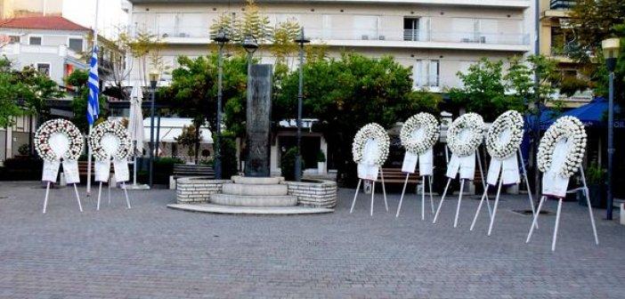 Αγρίνιο: Τιμήθηκαν οι νεκροί της ματωμένης Μεγάλης Παρασκευής του 1944