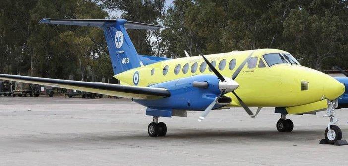 Αεροδιακομιδή 44χρονου Αγρινιώτη με COVID-19 από το Πανεπιστημιακό Ιωαννίνων στο Αττικόν