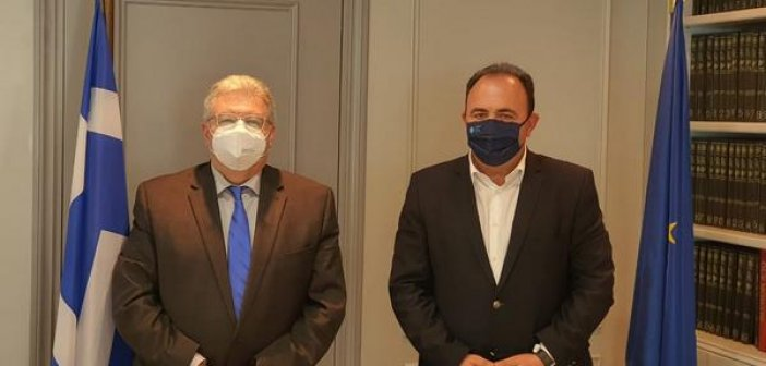 Συνεργασία του Αντιπεριφερειάρχη Ανδρέα Φίλια με τον Γενικό Γραμματέα Απόδημου Ελληνισμού Ιωάννη Χρυσουλάκη