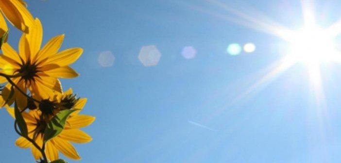 Καιρός: Υψηλές για την εποχή θερμοκρασίες από σήμερα με 35αρια