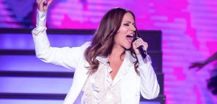 Κατερίνα Στικούδη: Η εμφάνισή της στο YFSF ως Celine Dion, μετά τις φήμες περί εγκυμοσύνης