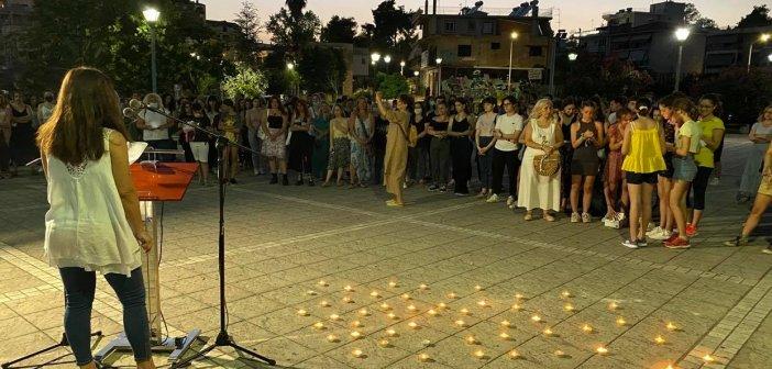 «Παρούσες» ενάντια στη δολοφονική βία, γυναίκες του Αγρινίου (ΔΕΙΤΕ ΦΩΤΟ + VIDEO)