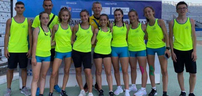 Πανελλήνιο Πρωτάθλημα Κ16: Σπουδαίες εμφανίσεις από αθλητές και αθλήτριες του ΓΑΣ Αγρινίου