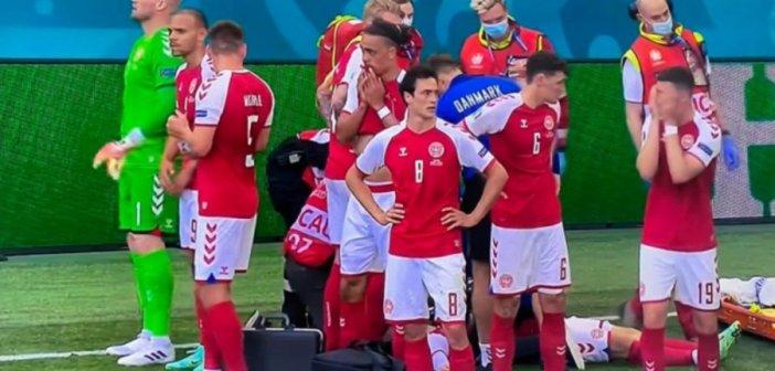 Euro 2020: Σοκ, κατέρρευσε ο Έρικσεν, τεχνητή αναπνοή να τον επαναφέρουν (εικόνες & video)
