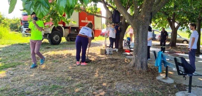 Αγρίνιο: Εθελοντική δράση καθαρισμού στον Ιερό Ναό Αγίας Τριάδας του Μαύρικα