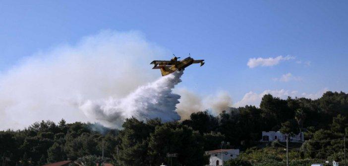 Καύσωνας – Πολιτική Προστασία: Πολύ μεγάλος ο κίνδυνος πυρκαγιών στη Δυτική Ελλάδα την Πέμπτη