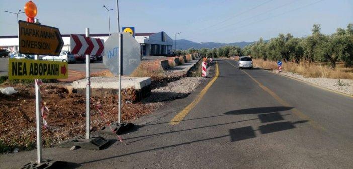 Κατασκευάζεται o κόμβος στο δρόμο προς την Αβόρανη (ΔΕΙΤΕ ΦΩΤΟ)