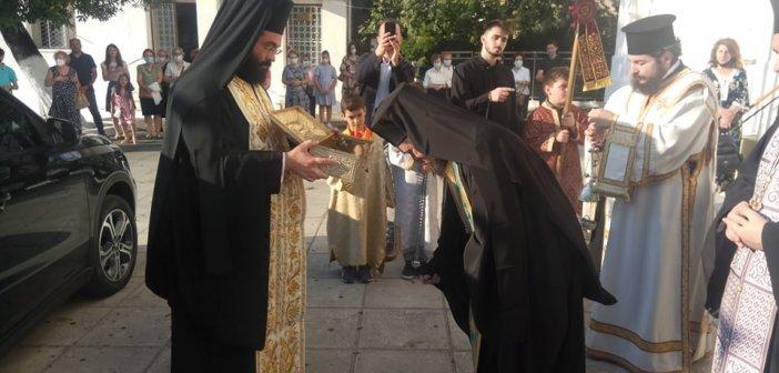 Η υποδοχή του Ιερού Λειψάνου του Αγίου Ανδρέου του εν Χαλκιοπούλοις Βάλτου στην Αγία Τριάδα Αγρινίου (ΔΕΙΤΕ ΦΩΤΟ)