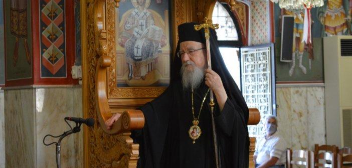 O μητροπολίτης Αιτωλίας και Ακαρνανίας έθεσε σε επ' αόριστον διαθεσιμότητα τον ιερέα που συνελήφθη
