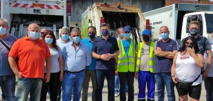 """Θ . Μωραΐτης: Με αδιαφορία """"ανταμείβονται"""" οι υπάλληλοι καθαριότητας – Συνάντηση με εργαζόμενους"""