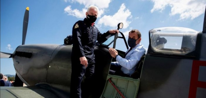 Παναγιωτόπουλος: Σύντομα το ελληνικό Spitfire θα ξαναπετάξει στους ελληνικούς ουρανούς