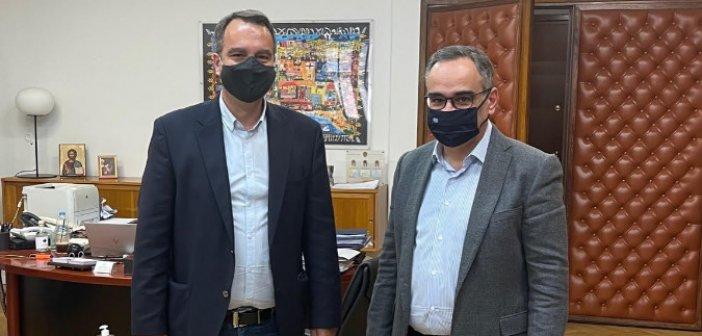Συνάντηση Παπαθανάση με τον Αν. Υπουργό Υγείας για την πίεση που δέχεται το σύστημα υγείας στην Αιτωλοακαρνανία από την πανδημία.
