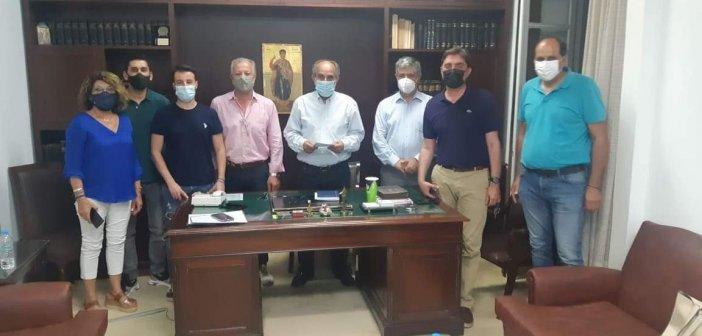 Παράταξη Κατσιφάρα: Επίσκεψη στον Εμπορικό Σύλλογο της Πάτρας