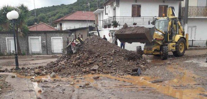 Με χρηματοδότηση 9,8 εκατομμύρια ευρώ αποκαθίστανται ζημιές από θεομηνίες στην Π.Ε. Αιτωλοακαρνανίας