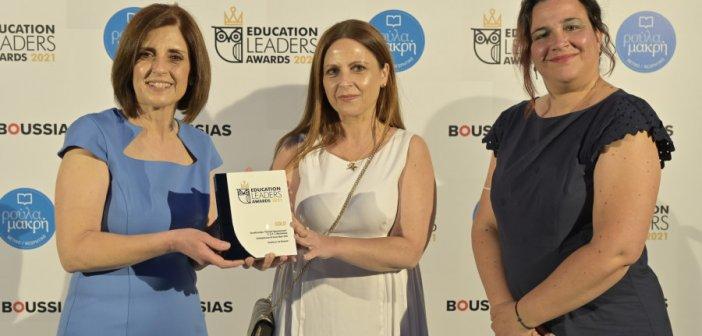 """Χρυσό Βραβείo στην Ελλάδα για τα Εκπαιδευτήρια """"Παναγία Προυσιώτισσα"""" στα EducationLeadersAwards"""